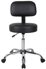 Office Bar Stool Chair Amazon Com Boss Office Products B245 Bk Be Well Medical Spa Stool