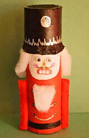 nutcracker toilet paper roll craft allfreechristmascrafts com