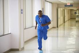 Floor Nurse by Red Lights In Flight Code Blue In The Icu Spok