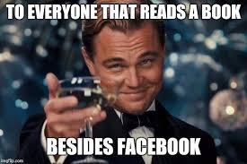 Facebook Meme - no one reads anymore imgflip