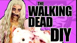 walking dead zombie costume tutorial youtube