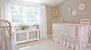 ivanka trump u0027s white baby nursery project nursery youtube