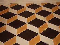 the steunk home escher on the floor