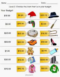 shopping math worksheets free worksheets library download and