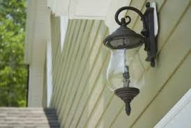 turn porch light into outlet how to install an exterior light fixture on siding home guides