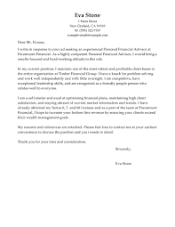 sle cover letter finance financial advisor cover letter sle images letter sles format