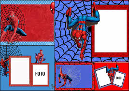 Invitations Cards Free Spiderman Free Printable Invitations Cards Or Photo Frames Oh