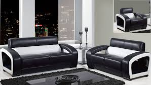 White Leather Sofa Set Black And White Leather Sofa Set And Rectangular Glass Top Coffee