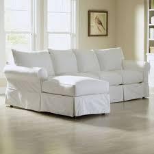 slipcovered sectional sofas you u0027ll love wayfair
