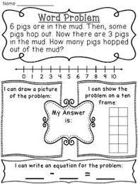 start unknown addition word problems word problems sentences