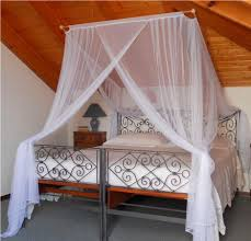 white mosquito net bed canopy buylivebetter king bed decorate image of mosquito net bed canopy ideas