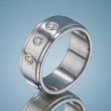 Steel Wedding Rings by Stainless Steel Wedding Bands Spexton Custom Jewelry