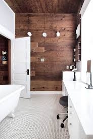 Powder Room Flooring Bathroom Luxury Bathroom Wood Accent Wall Impressive Bathroom