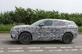 fourth range rover model scooped latest news on land rover u0027s x6
