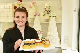 truly scrumptious wedding cake and sweet treat stall unveiled on