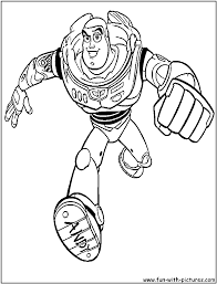 buzz lightyear coloring pages blog title