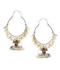 mississippi earrings mississippi earrings classic silver hoop jhumkas buy mississippi