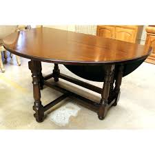 round gateleg dining table full size of dining tablesexpandable
