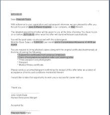 generated offer letter png letter of offer template legal