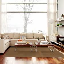 hall nice white area rug for placed modern middle room design