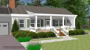Ranch House Front Porch by Porch Designs For Houses 25 Best Front Porch Design Ideas On