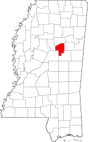Tennessee Time Zone Map by Choctaw County Mississippi Wikipedia
