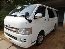 toyota vans automobile rent lease hire u003e kdh van for hire 44 per km