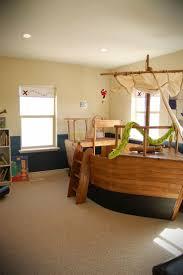 Pirate Ship Bed Frame Bedroom Decor Funky Childrens Bedroom Furniture Kids Bed Frames