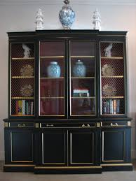 chinoiserie chic karges chinoiserie secretary bookcase at liv vintage