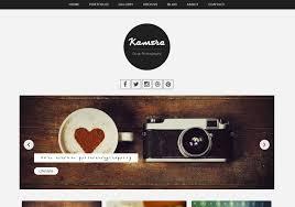 kamera photography blogger template u2022 blogspot templates 2018