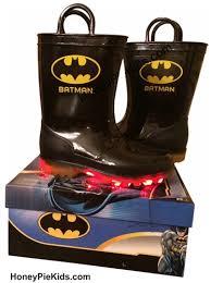 light up rain boots light up batman rubber rain boots are available at honeypiekids com