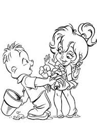 brittany alvin chipmunks original cartoon genie