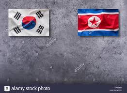 Th Flag North Korea South Flag War Stock Photos U0026 North Korea South Flag