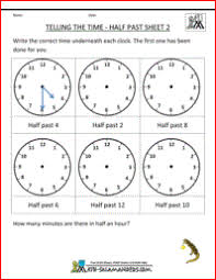 time worksheets for grade 1 free worksheets library download and