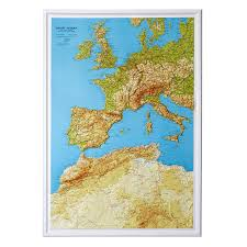 Map North Africa by Relief Maps Our Relief Maps World Relief Maps