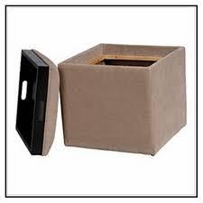 brown storage ottoman microfiber storage decorations