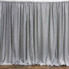 20 feet x 10 feet metallic spandex backdrop