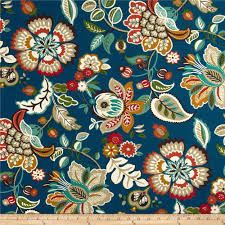 Home Decor Fabric Stores Near Me Richloom Solarium Outdoor Telfair Peacock Discount Designer