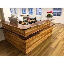 Wood Reception Desk Wooden Reception Desk At Rs 75000 Wooden Reception Table