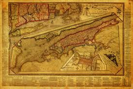 Manhattan New York Map by New York U0026 Philadelphia 1821 Old Map Battlemaps Us