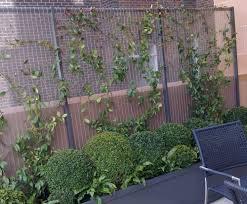 bespoke metalwork trellis panels outdoor design esi external works