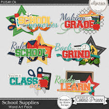 supplies wordart pack new releases at the