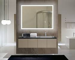 unbelievable bathroom backlit mirror bedroom ideas