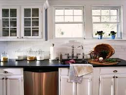 tuscan tile backsplash ideas kitchen cabinet doors with glass