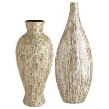 mother of pearl floor l i pinned this large mother of pearl ceramic vase from the howard