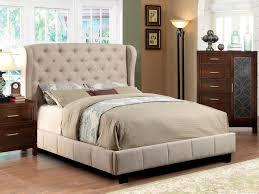 Candiac Upholstered Bedroom Set Bed Ideas Ivory Fabric Tufted Upholstered Bed Frame Caravana