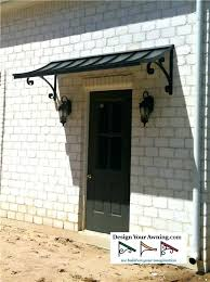 Glass Awning Design Glass Awnings For Doors Brookside Door Awning Dome Awnings For