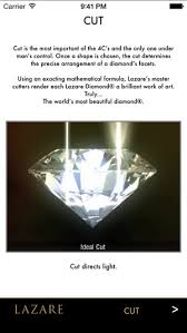 lazare diamond review the lazare diamond 4c s on the app store