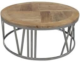 reclaimed wood round coffee table pastiche of cape cod