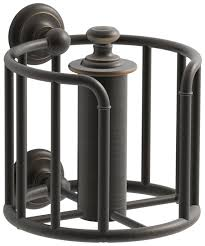 Oil Rubbed Bronze Bathroom Accessory Sets by Amazon Com Kohler K 72576 2bz Artifacts Toilet Tissue Carriage